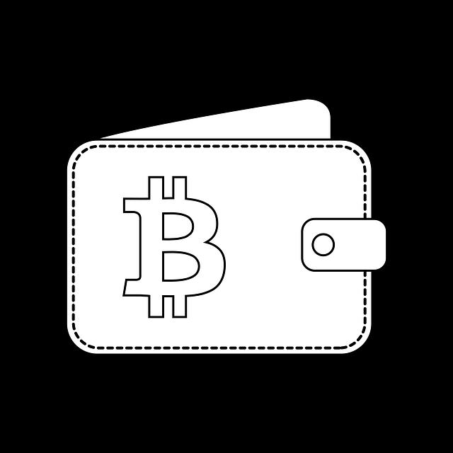 иконка, кошелёк, биткоин