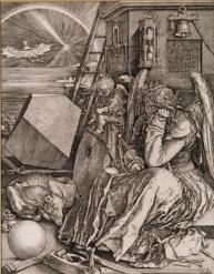 Волшебный квадрат 4-го порядка на картине Альбрехта Дюрера «Меланхолия», созданной в 1514 г. Так живописец демонстрировал собственные способности в математике.